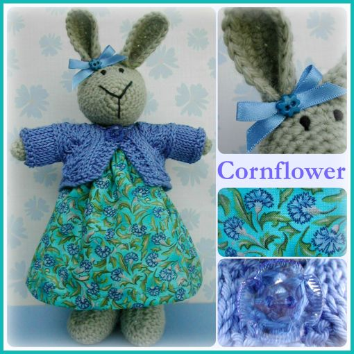 Cornflower Collage