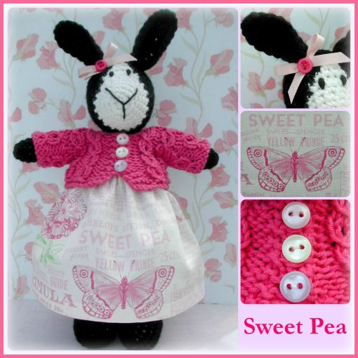 Sweet Pea Collage