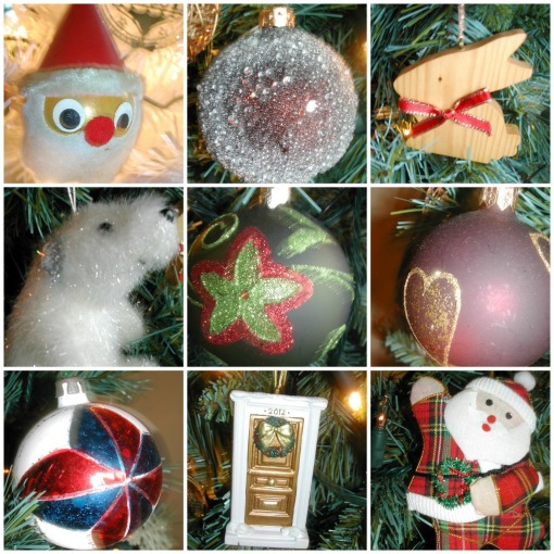 Tree decoration Collage