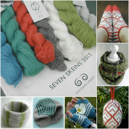 Seven Skeins 1 Collage